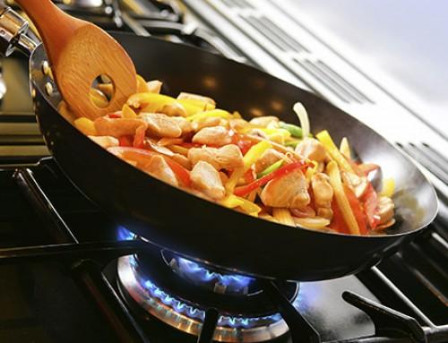 La cuisson au gaz