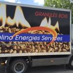 Camion livraison granules Grenoble